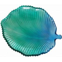 Glass Tray - Leaf