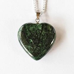 American Greenstone (Heartenite) - inari.co.nz