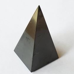 Shungite 6 cm Tall Pyramid - inari.co.nz