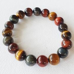 Mixed Tiger's Eye Bracelet - inari.co.nz