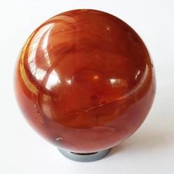 Carnelian Sphere - inari.co.nz