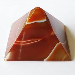Carnelian Pyramid - inari.co.nz