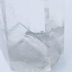 Clear Quartz Obelisk with Rare Ghosting - inari.co.nz