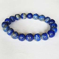 Lapis Bracelet - 10mm Beads - The Crystal Rainbow - inari.co.nz