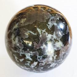 Gabbro Sphere - 63 mm - The Crystal Rainbow - inari.co.nz