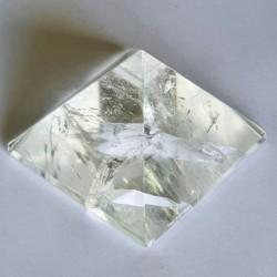Clear Quartz Pyramid - The Crystal Rainbow - inari.co.nz