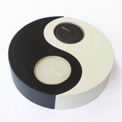Wooden Circle Yin Yang...