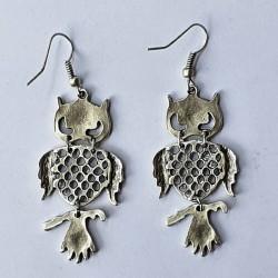 Owl Earrings - Medium