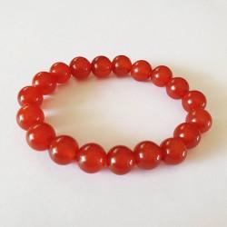 Carnelian Bracelet - 10mm Beads