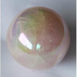 Rose Quartz Aura Sphere