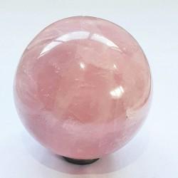Rose Quartz Sphere - 66mm