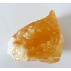 Orange Calcite - Raw Chunk